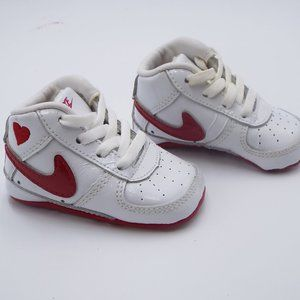 Nike Baby Air High Top Sneakers Size 2C